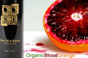 OOandB organic blood orange EVOO