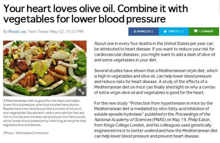 Hearht Loves Olive Oil