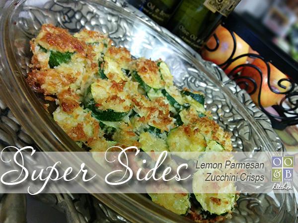 Lemon Parmesan Zucchinis Crisps by Holly - Olive Oil & Beyond