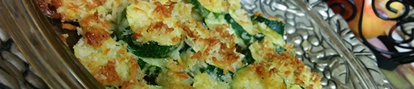 Lemon Parmesan Zucchinis Crisps by Holly - Olive Oil & Beyond