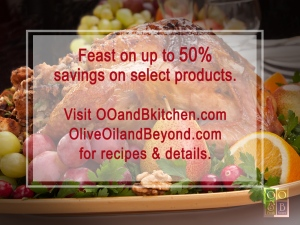 gourmet foods savings  Olive Oil and Beyond
