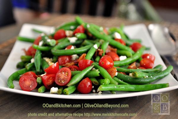 green bean tomato and pumpkin seed salad recipe