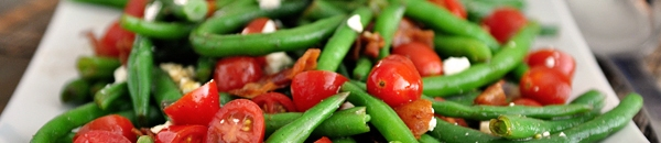 green bean tomato and pumpkin seed salad recipe