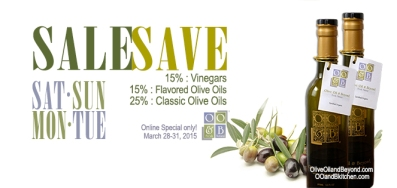 Gourmet SALE Olive Oil and Beyond
